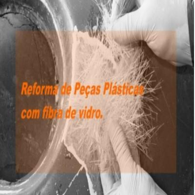 Reforma de peças plásticas