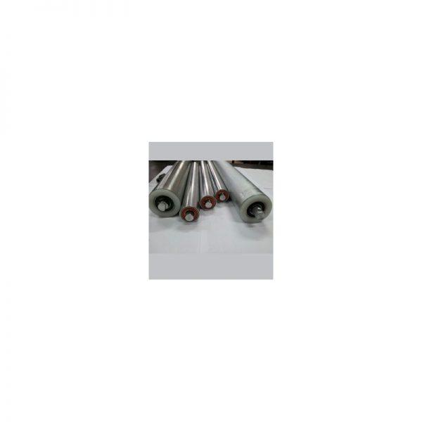 Uma troca de rolamento de rolete de esteira com lona de 52 até 56cm de largura